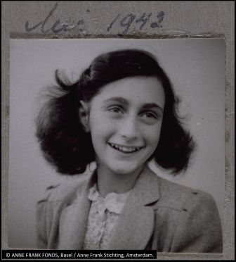 Updated Anne Frank photo for website